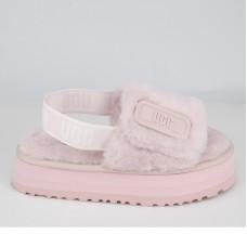 Disco Slide Seashell Pink