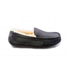 Ascot Leather Black R