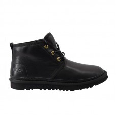 Mens Neumel Leather Black