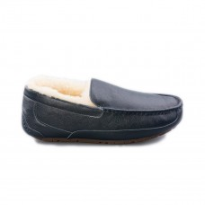 Ascot Leather Navy