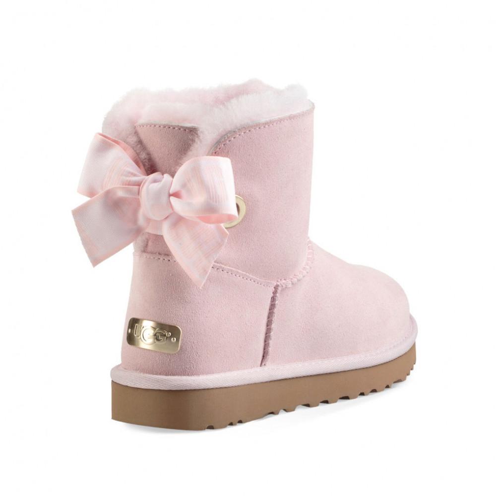 Bow Mini Customizable Seashell Pink