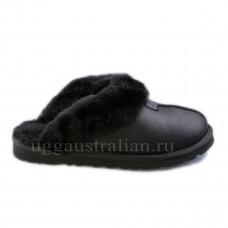 Mens Coquette Slipper Metallic Black