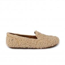 Hailey Fluff Loafer Sand