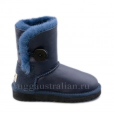 Bailey Button Kids Metallic Navy